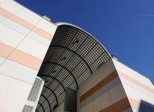 Вентилируемые фасады в IPES, Istituto per l'Edilizia Sociale, Больца́но (Италия)