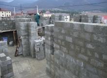 Подъем стен