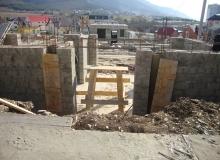 Кладка стен из керамзита блока
