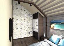Спальная комната на 3-м этаже