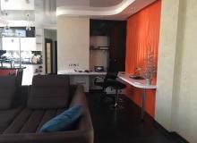 Рабочая зона в гостиной