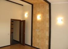 Оформление стены в комнате