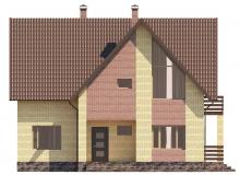 Фасад 1 - Проект дома 1+