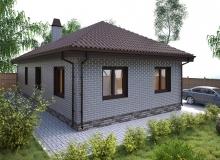 3D модель 2 - Проект дома 10+