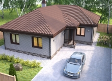 3D модель 3 - Проект дома 10+