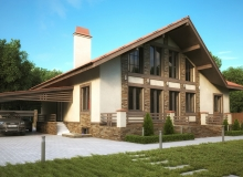 3D модель 2 - Проект дома 11+