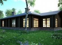3D модель 2 - Проект дома 12+