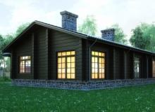 3D модель 4 - Проект дома 12+