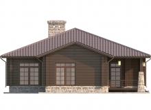 Фасад 2 - Проект дома 12+
