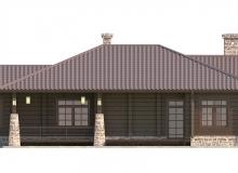 Фасад 3 - Проект дома 12+