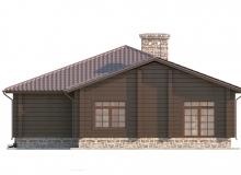 Фасад 4 - Проект дома 12+