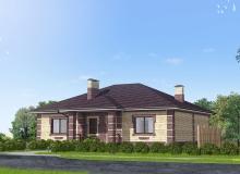 3D модель 2 - Проект дома 13+