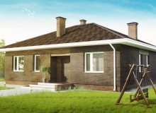 3D модель 3 - Проект дома 16+