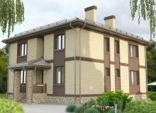 3D модель 2 - Проект дома 17+