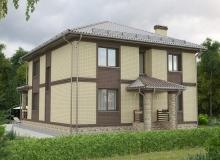 3D модель 4 - Проект дома 17+