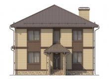 Фасад 1 - Проект дома 17+