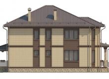 Фасад 2 - Проект дома 17+