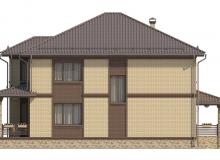 Фасад 4 - Проект дома 17+