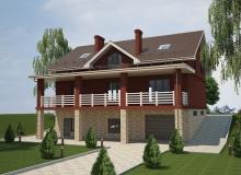 3D модель 3 - Проект дома 18+