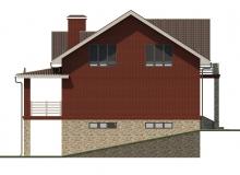 Фасад 2 - Проект дома 18+