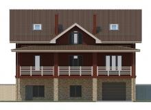 Фасад 4 - Проект дома 18+