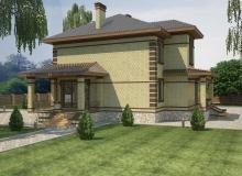 3D модель 2 - Проект дома 19+