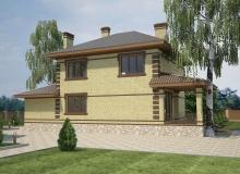 3D модель 3 - Проект дома 19+
