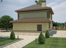 3D модель 4 - Проект дома 19+