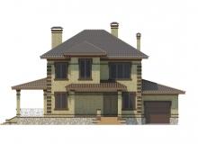 Фасад 1 - Проект дома 19+