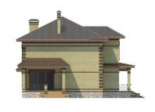 Фасад 2 - Проект дома 19+