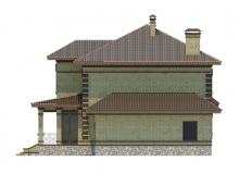 Фасад 4 - Проект дома 19+