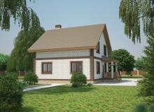3D модель 2 - Проект дома 21+