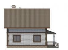Фасад 2 - Проект дома 21+