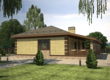 3D модель 2 - Проект дома 22+