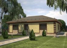 3D модель 3 - Проект дома 22+