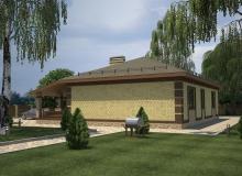 3D модель 4 - Проект дома 22+