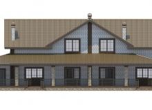 Фасад 2 - Проект дома 24+