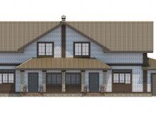 Фасад 3 - Проект дома 24+