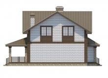 Фасад 4 - Проект дома 24+
