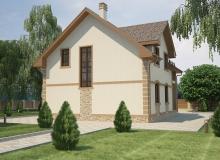 3D модель 3 - Проект дома 25+