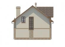 Фасад 4 - Проект дома 25+