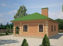 3D модель 2 - Проект дома 26+