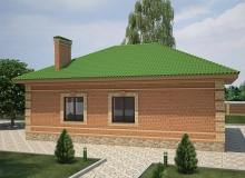 3D модель 4 - Проект дома 26+