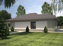 3D модель 2 - Проект дома 27+