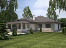 3D модель 3 - Проект дома 27+