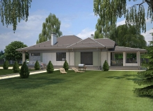 3D модель 4 - Проект дома 27+