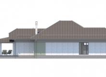 Фасад 1 - Проект дома 27+