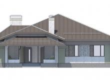 Фасад 2 - Проект дома 27+