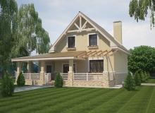 3D модель 3 - Проект дома 28+