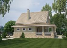 3D модель 4 - Проект дома 28+